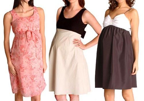 Платья для беременных следим за модой